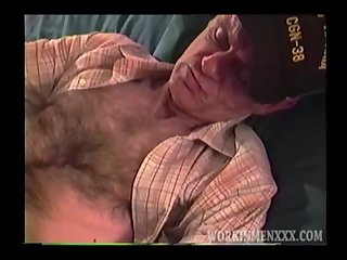 Mature Amateur John Jacking Off