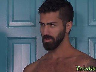 Gay buff dude cum faced