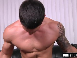 Muscle son oral sex and facial