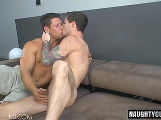 Hot gay anal with anal cumshot