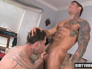 Muscle gay anal with cumshot