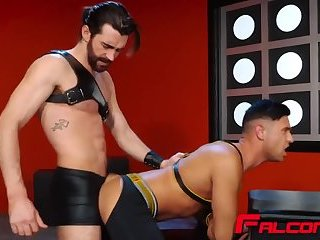Gay Stud Woody Fox Fucks Josh Conners Until They Both Cum