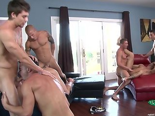 A Must watch homo group-sex Session!