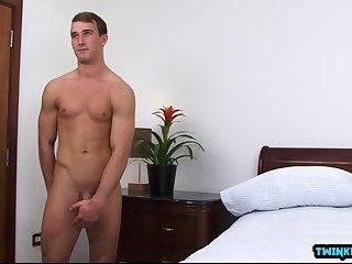 Big dick son rimjob and cumshot