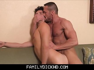 Twink Stepson Drunk Angry Fuck From Hot Stepdad With Muscles