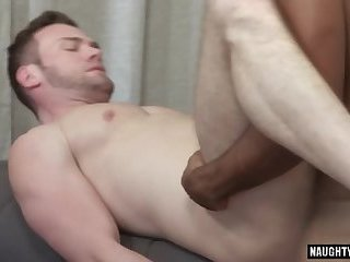 Latin gay anal sex with creampie